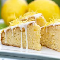檸檬海綿蛋糕作法