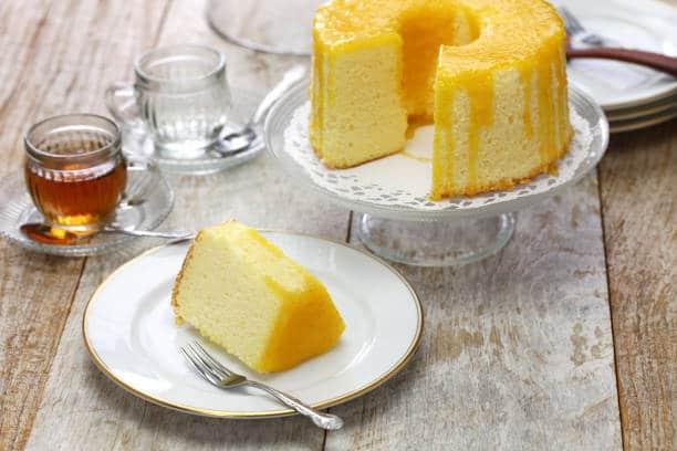 甜橙戚風蛋糕食譜