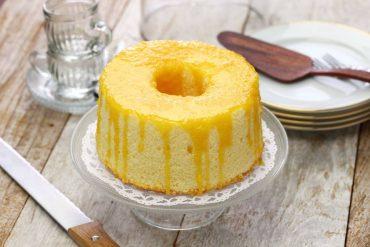 香橙戚風蛋糕食譜